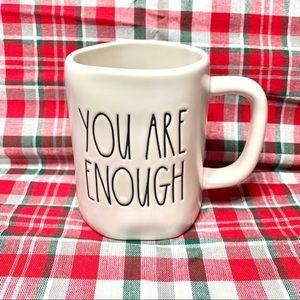 Rae Dunn { You Are Enough } Ceramic Artisan Mug